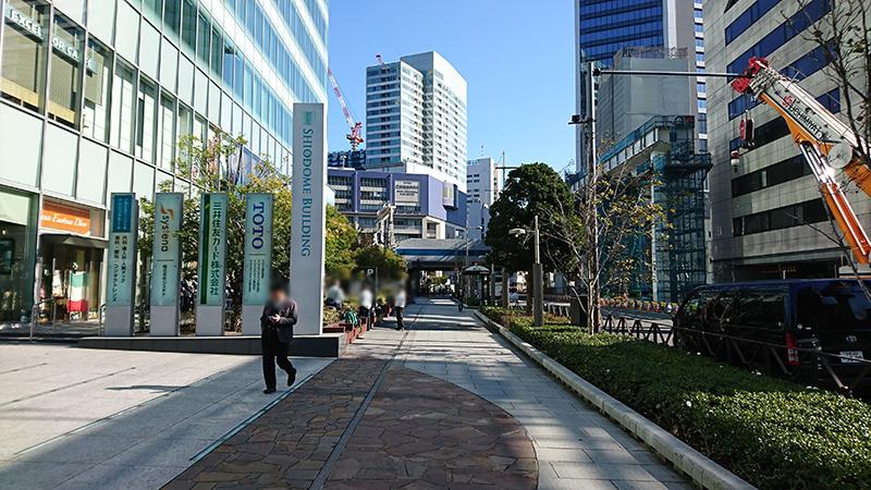 浜松町駅からニューピアホールへの行き方3